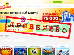 Ревизия лотерейного сервиса Loto-million